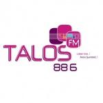 Logo da emissora Talos 88.6 FM