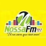 Logo da emissora Rádio Nossa 104.9 FM