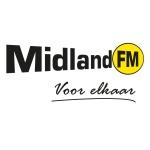 Logo da emissora Midland 104.9 FM