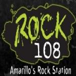 Logo da emissora KZRK 108 FM