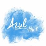 Logo da emissora Radio Azul 106.9 FM