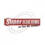 Logo da emissora Super 93.6 FM