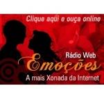 Logo da emissora Rádio Web Emoções