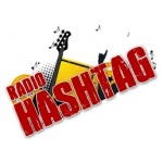 Logo da emissora Rádio Hashtag