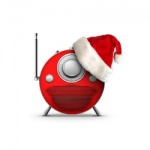 Logo da emissora Christmas 94.3 FM
