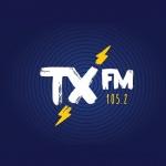 Logo da emissora TX 105.2 FM