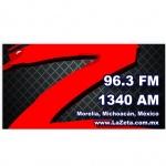 Logo da emissora Radio La Zeta FM 96.3