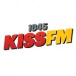 Logo da emissora Kiss 104.5 FM
