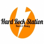 Logo da emissora Hard Rock Station