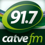 Logo da emissora Rádio Catve 91.7 FM