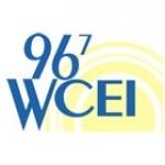 Logo da emissora Radio WCEI 96.7 FM