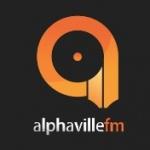 Logo da emissora Alphaville FM