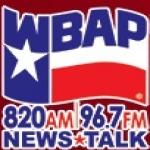 Logo da emissora WBAP 820 AM