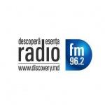 Logo da emissora Discovery 96.2 FM