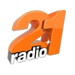 Logo da emissora Radio 21 Moldova 102.7 FM