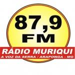 Logo da emissora Rádio Comunitária Muriqui 87.9 FM
