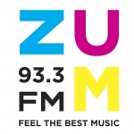 Logo da emissora Radio ZUM 93.3 FM