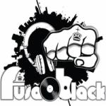 Logo da emissora Rádio Fusão Black