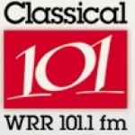 Logo da emissora WRR 101.1 FM