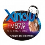 Logo da emissora R�dio Xingu 87.9 FM