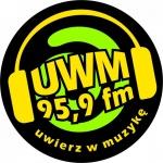 Logo da emissora Radio UWM 95.9 FM