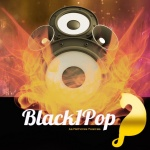 Logo da emissora Black1pop MIX