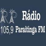 Logo da emissora Rádio Paraitinga 105.9 FM