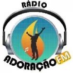 Logo da emissora R�dio Adora��o FM