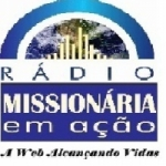 Logo da emissora Rádio Missionária em Ação
