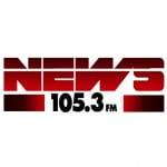 Logo da emissora Radio Circuito News 105.3 FM
