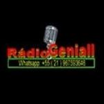 Logo da emissora Rádio Geniall