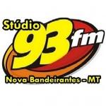 Logo da emissora Rádio Studio 93.7 FM