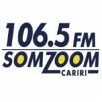 Logo da emissora Rádio Somzoom Cariri 106.5 FM