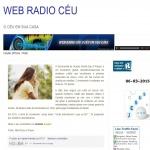 Logo da emissora Web Rádio Céu