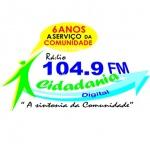 Logo da emissora R�dio Cidadania 104.9 FM