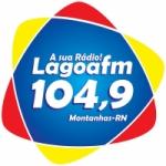 Logo da emissora Rádio Lagoa FM 104,9 Montanhas-RN