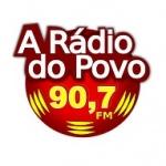 Logo da emissora Rádio A Rádio do Povo 90.7 FM