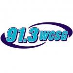 Logo da emissora WCSG 91.3 FM