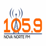 Logo da emissora Radio Nova Norte 105.9 FM