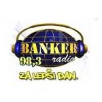 Logo da emissora Banker 98.3 FM