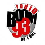 Logo da emissora Radio Boom 93.4 FM