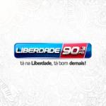 Logo da emissora R�dio Liberdade 90.3 FM