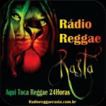 Logo da emissora R�dio Reggae Rasta