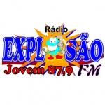 Logo da emissora Rádio Explosão Jovem 87.9 FM