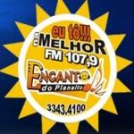 Logo da emissora Rádio Comunitária Encanto do Planalto 107.9 FM