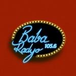 Logo da emissora Baba Radyo 105.6 FM