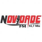 Logo da emissora Rádio Novidade 92.7 FM