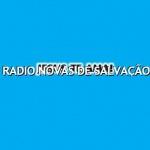Logo da emissora Rádio Novas de Salvação