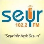 Logo da emissora Seyr 102.2 FM