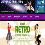 Logo da emissora Rádio Universo